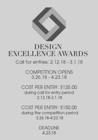 ASID 2018 Design Excellence Awards Competition